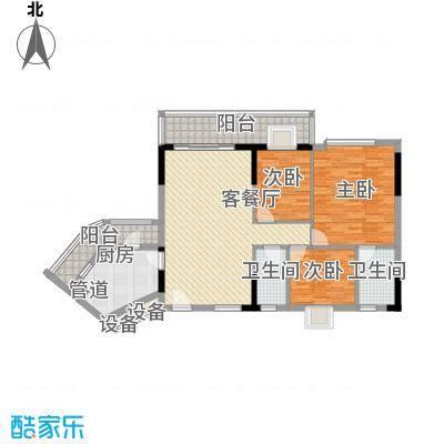 新幸福家园新幸福家园户型图6座02单位3室2厅户型3室2厅