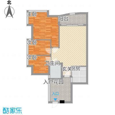 莲花广场莲花广场2室户型2室