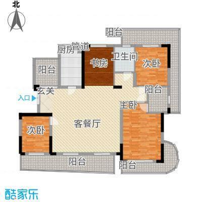莲花广场莲花广场4室2厅户型4室2厅