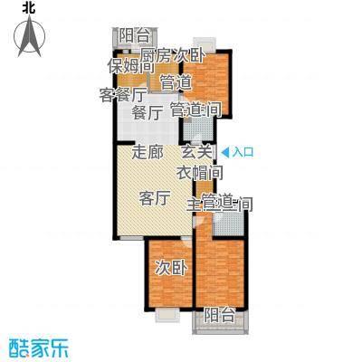汾河景观360187.79㎡汾河景观360户型图4室2厅2卫户型10室