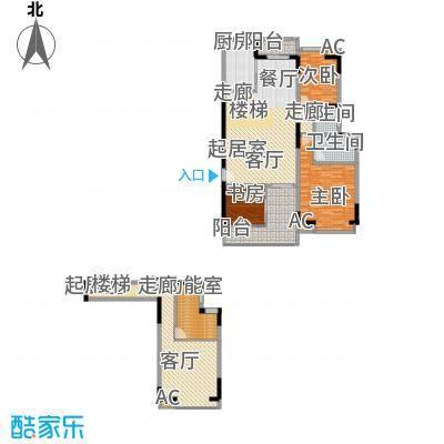 汇景上层汇景上层3室2厅户型3室2厅