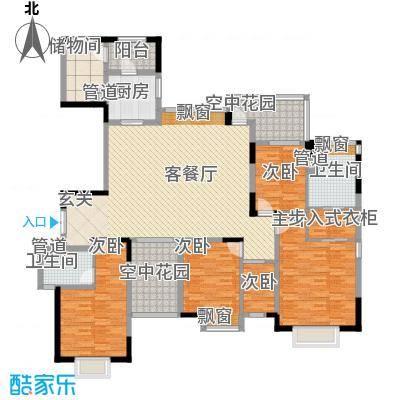 中信森林湖香樟林191.00㎡中信森林湖香樟林3室户型3室