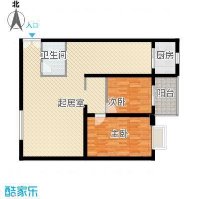 天和学府苑120.58㎡天和学府苑户型图G户型2室2厅1卫户型2室2厅1卫