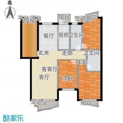 蓝天花园蓝天花园3室户型3室
