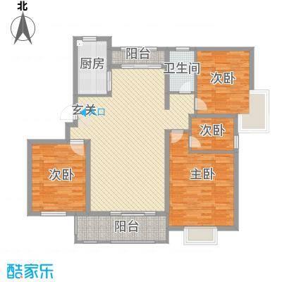 桑达园五期123.00㎡桑达园五期户型图3室户型图3室2厅1卫1厨户型3室2厅1卫1厨