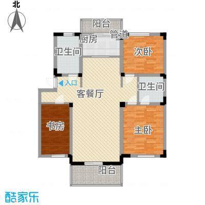 东骏豪苑四期137.00㎡东骏豪苑四期3室户型3室