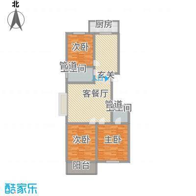学府小院2#户型3室