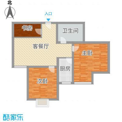 石林苑130.00㎡石林苑3室户型3室