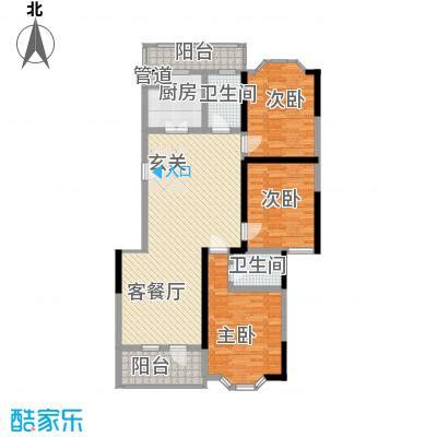 盛世华庭145.00㎡盛世华庭户型1户型10室