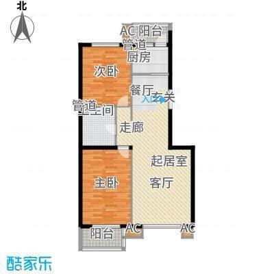 1-13号楼多层小高层D户型