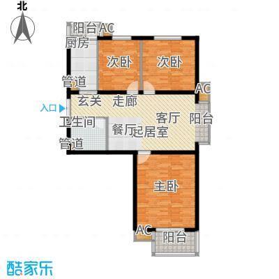 1-13号楼多层小高层F户型