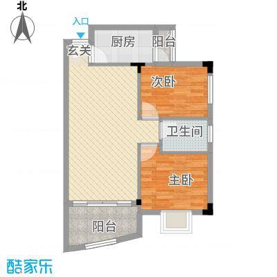 东田丽园72.00㎡东田丽园户型10室