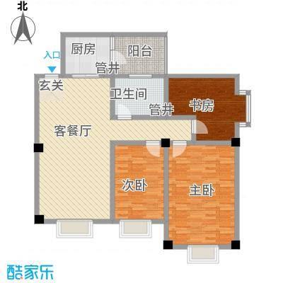 大唐龙庭户型图大唐智能花园三期 3室2厅1卫1厨