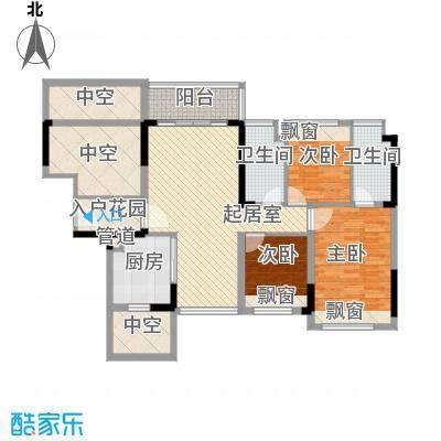 中央公馆蟠龙住宅 6室 户型图