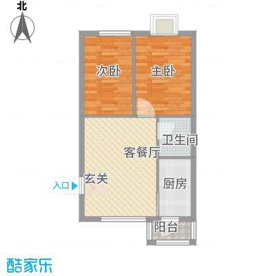 B栋51.26平米