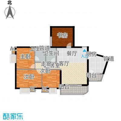 华远大厦 3室 户型图