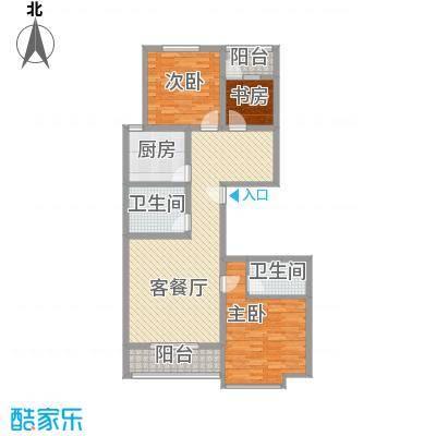 银海水韵三室两厅两卫130平米