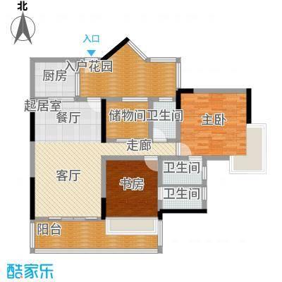 粤顺豪庭 3室 户型图