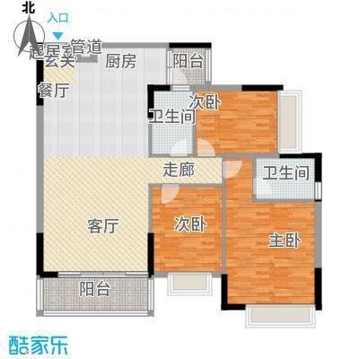 粤顺豪庭 4室 户型图