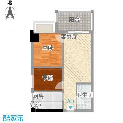 景湖春晓户型图春晓美寓 2室2厅2卫1厨