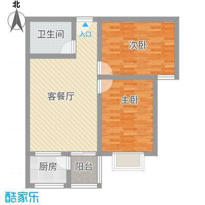 迎泽熙园F户型三室两厅一卫