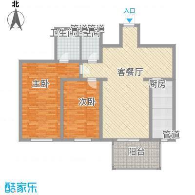东骏豪苑二期 3室 户型图