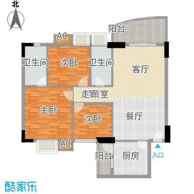 东田翠湖湾220.00㎡东田翠湖湾4室户型4室