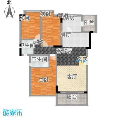 东泰花园明华苑103.00㎡东泰花园明华苑3室户型3室