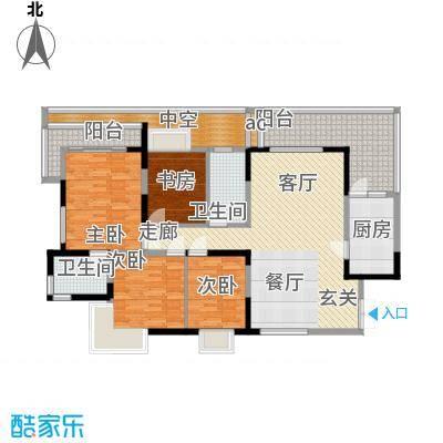 怡丰苑130.00㎡海杨城三期怡丰苑4室户型4室