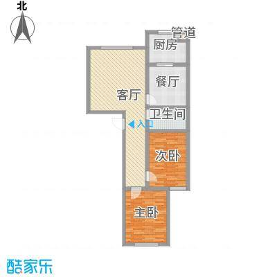 晋建文缘102.40㎡三室两厅两卫102.40户型3室2厅2卫1厨