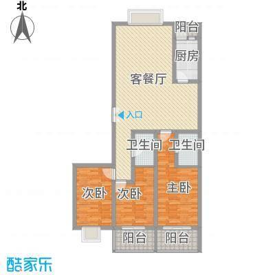 西区新干线136.25㎡西区新干线户型图3室2厅2卫1厨户型10室