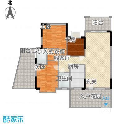 汇景豪庭138.09㎡汇景豪庭户型图3室2厅2卫1厨户型10室