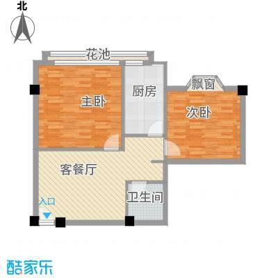 大唐长风一期大唐长风一期户型图2室1厅1卫1厨户型10室