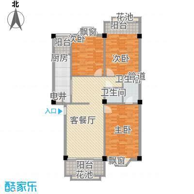 大唐长风一期大唐长风一期户型图3室2厅2卫1厨户型10室