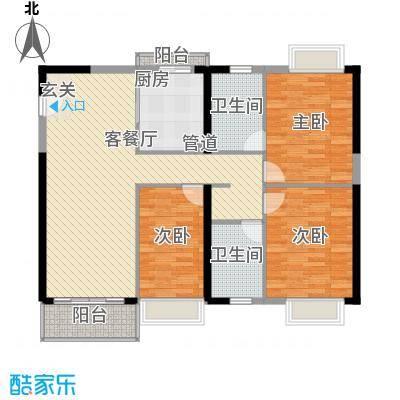 世纪新潮世纪新潮3室2厅2卫户型3室2厅2卫