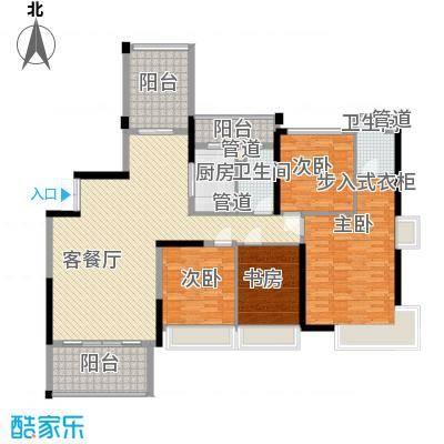 合正上东国际合正上东国际4室户型4室
