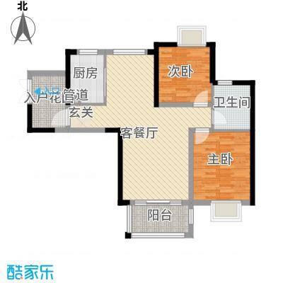 龙晖苑龙晖苑2居室户型10室