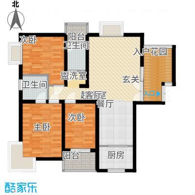 司法厅宿舍100.00㎡司法厅宿舍3室户型3室