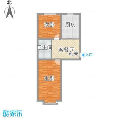 文德楼文德楼2室1厅1卫户型2室1厅1卫
