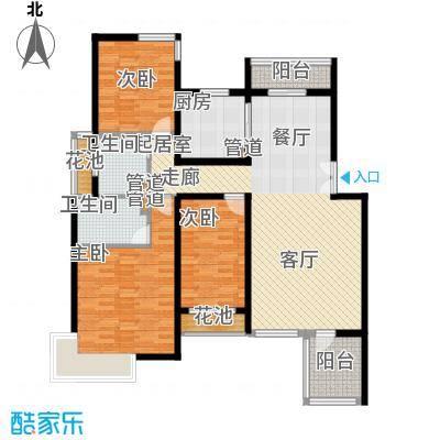 凌云公寓143.00㎡凌云公寓户型图3室户型图3室2厅2卫1厨户型3室2厅2卫1厨