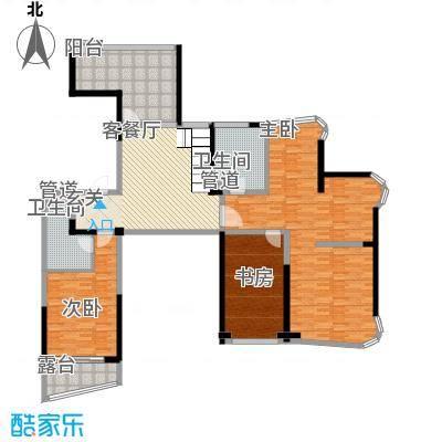 江南御府370.00㎡江南御府户型图D户型370方上层5室4厅5卫2厨户型5室4厅5卫2厨