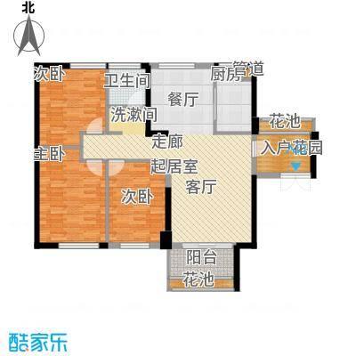 阳光城领海103.00㎡阳光城领海户型图1#、2#、5#、6#楼B户型图4室2厅1卫1厨户型4室2厅1卫1厨