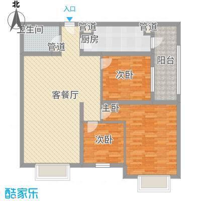 A+5米4120.00㎡3房2厅120㎡户型3室2厅