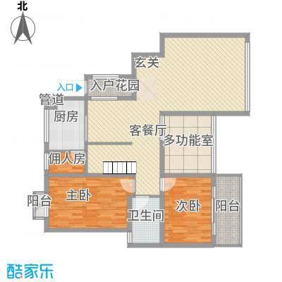 展鹏大厦145.00㎡展鹏大厦2室户型2室