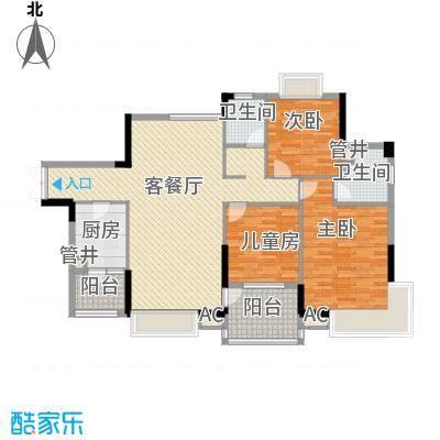 联华花园城二期联华花园城二期3室户型3室