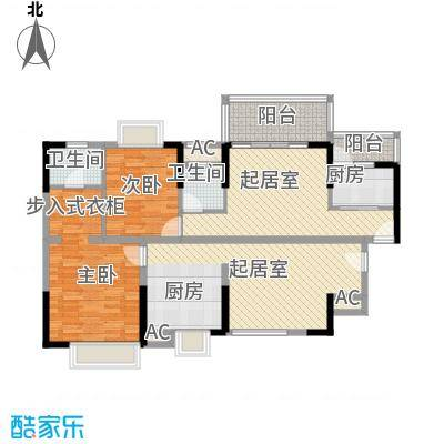 翰林雅苑58.47㎡翰林雅苑户型10室