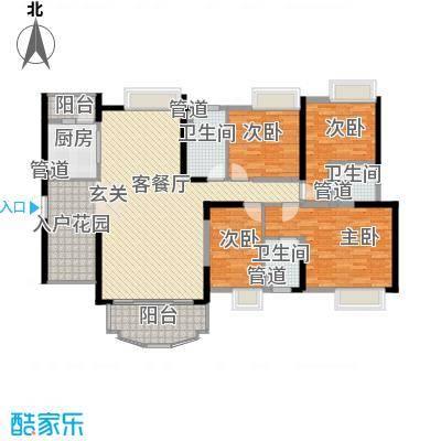 星城香洲花园星城香洲花园4室户型4室
