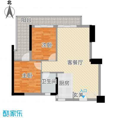 第一国际第一国际2室户型2室