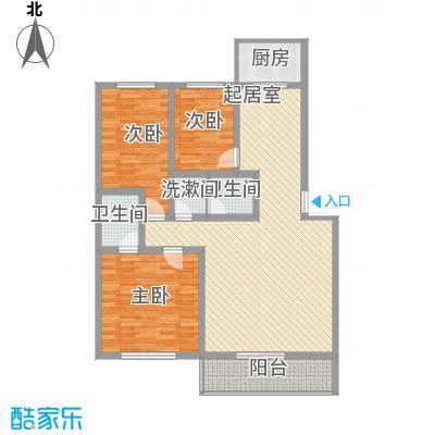 大唐花园125.00㎡太原大唐花园户型10室