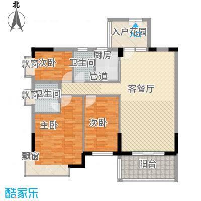 金色华庭61.00㎡金色华庭一期1室户型1室